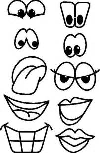 printable funny eyes printable eyes nose mouth templates places to visit