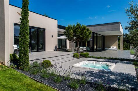 terrasse le jardin terrasse piscine et ext 233 rieur architecte de maisons