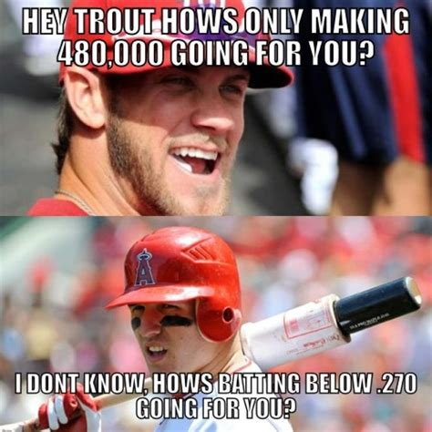 Funny Baseball Memes - mike trout meme mike trout mlb memes sports memes
