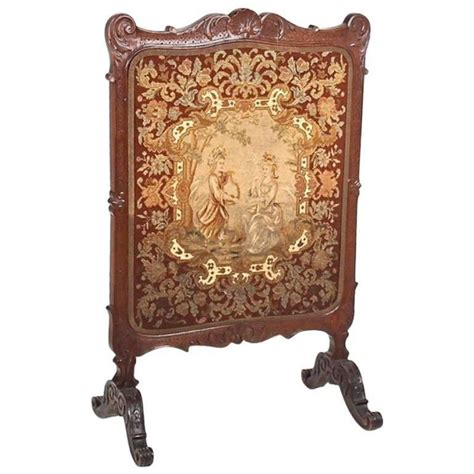 antique fireplace screens sale antique summer fireplace screen circa 1900 for sale