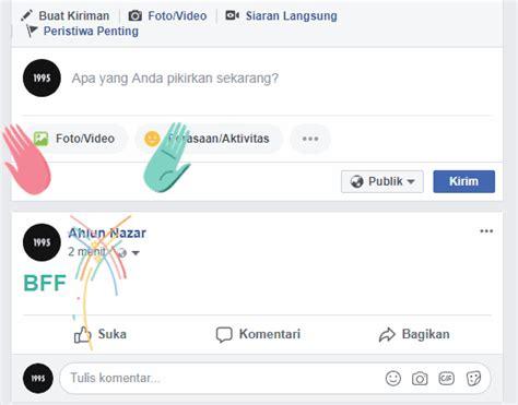 membuat facebook rahasia fitur rahasia facebook membuat tulisan berwarna dengan