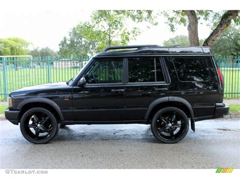 land rover discovery exterior java black 2004 land rover discovery se7 exterior photo