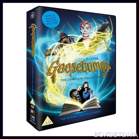 series the complete collection books goosebumps complete collection seasons 1 4 brand