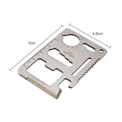 stainless steel multi tool card stainless steel multi tool card survival card for outdoor