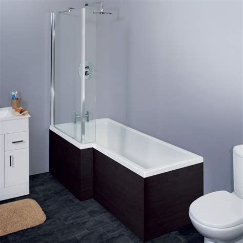 l shaped bathtub nero 1700mm l shape square shower bath shaped screen