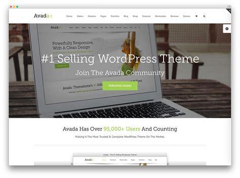 avada theme change color 20 professional wordpress multi purpose themes 2017 colorlib