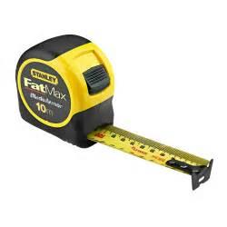 Concrete Cabinets 33 829 Stanley Fatmax 10 Metre Metric Tape Measure
