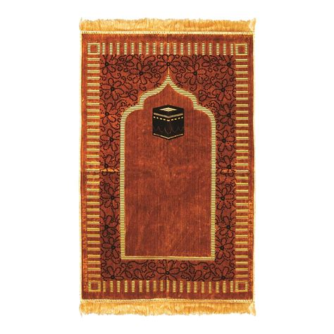 Islamic Pray Mats by Muslim Prayer Rug 2 3 X 3 6 Gold And Brown Color