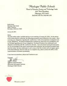 Coaching Resignation Letter by Muskogeenow