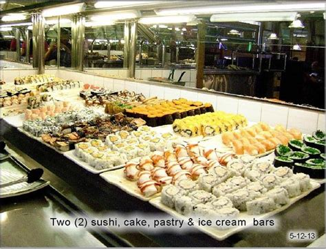 sushi bar picture of buffet asia las vegas tripadvisor