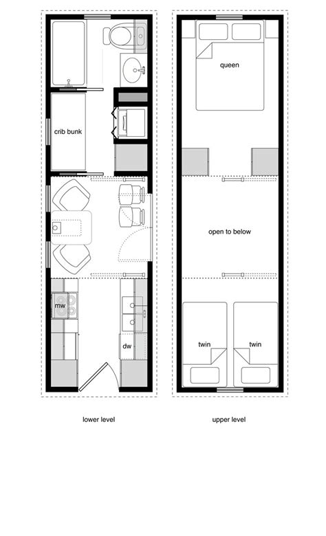 floor plans tiny houses family tiny house design