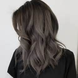 the counter ash hair color for gray hair 35 smoky and sophisticated ash brown hair color looks