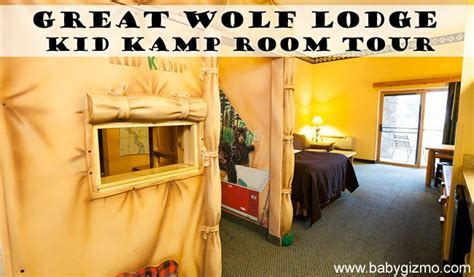 great wolf lodge room types great wolf lodge kidk suite room tour baby gizmo