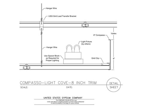 drop ceiling section cove lighting framing details related keywords