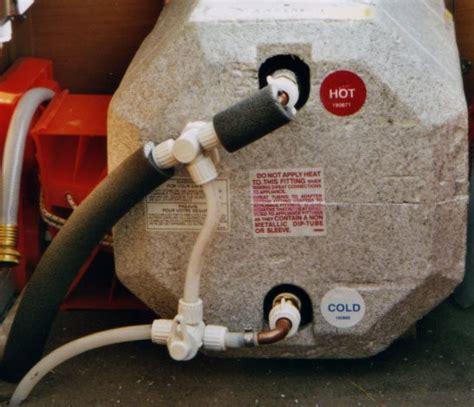 rv hot water heater bypass valve  drain valve rvsharecom