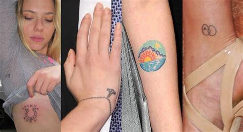 los tatuajes de los famosos aciertos desaciertos y cuecs