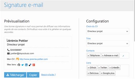 Setting Up Your Email Signature Gmail Yahoo Hotmail Outlook Doyoubuzz Knowledge Base