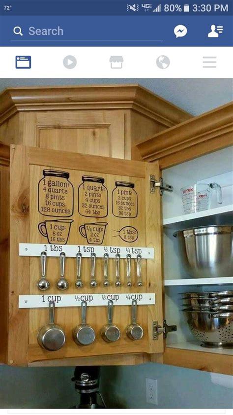 measuring kitchen cabinets best 25 measuring cup storage ideas on pinterest