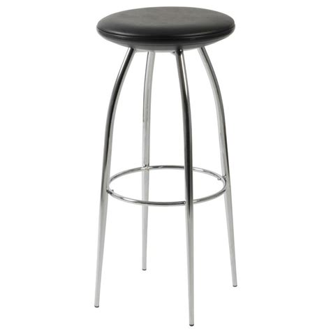 Bar Stool Black Chrome bernie bar stool black chrome bar stools