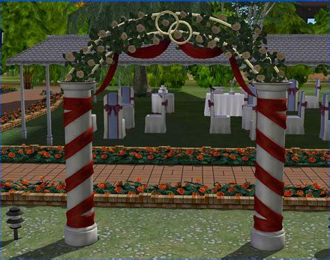 Wedding Arch Sims 3 by Sullivan Wedding Arch Recolours