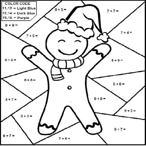 Christmas Coloring Pages For Math | http colorings co christmas math coloring pages