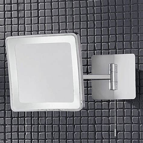 adjustable bathroom mirrors franklite wb951el illuminated adjustable bathroom mirror
