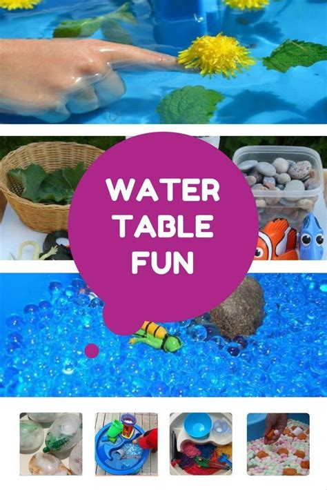 water table for 5 year 1000 ideas about water tables on water table