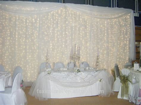 curtains with lights in them factory price wedding backdrop curtains professional