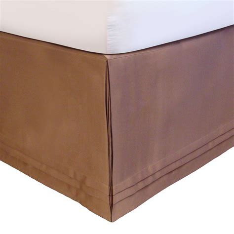 veratex adjustable bed skirt king taupe quot hike up your skirt quot ebay