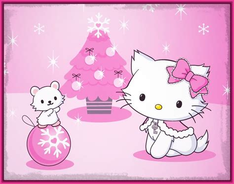 imagenes de navidad kitty hermosas imagenes de navidad de hello kitty imagenes de