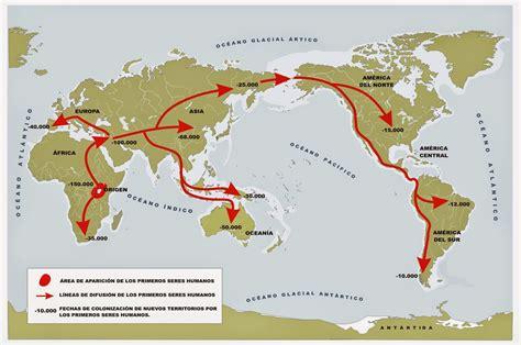 origen del ser humano y poblamiento del mundo profesor de historia geograf 237 a y arte prehistoria el