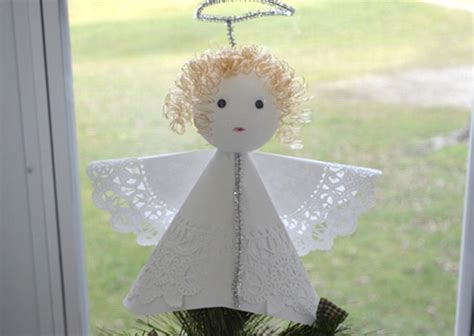 angel tree topper diy craft