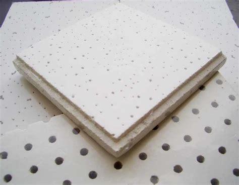 Tuile Minérale tuile min 233 rale acoustique de plafond de fibre tuile