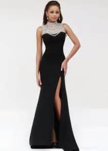 Elegant black dress 3 photo