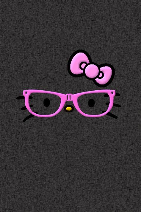 hello kitty nerd face wallpaper droidsr4girls hello nerdy kitty face wallpapers