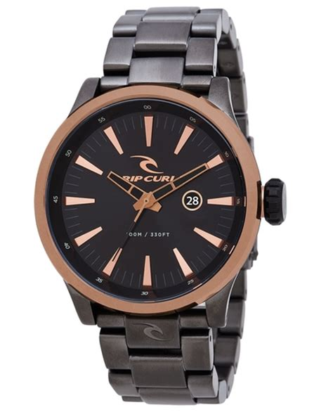 Ripcurl Chrono Detik Brown List surf watches and tide watches for and rip curl