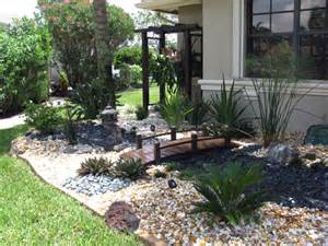 asian rock garden inspired front entry gardens images front
