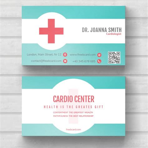 health business card templates psd business card psd file free