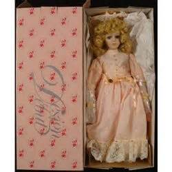 design debut doll jester design debut collection 18 in porcelain doll blonde mib