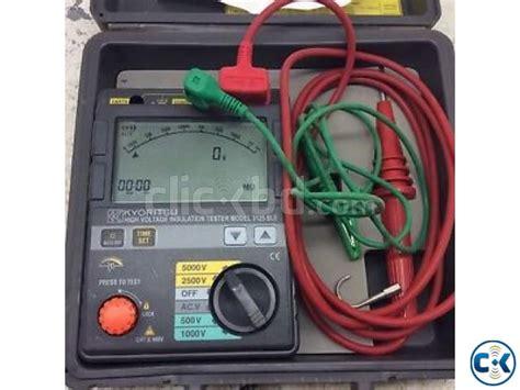Insulation Tester Kyoritsu 3128 High Voltage Insulation Tester high voltage insulation tester kyoritsu 3125 clickbd