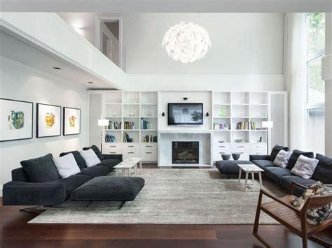 mobili grigi arredare la zona living con i mobili grigi