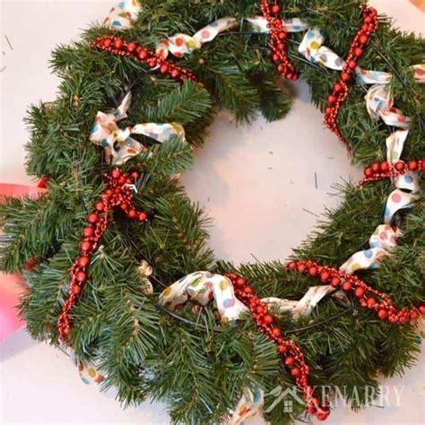 outdoor wreath outdoor wreath a and easy craft idea