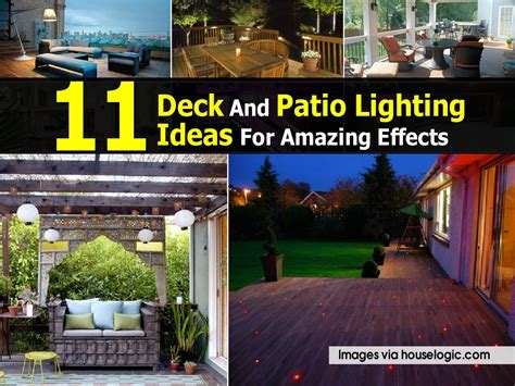 patio deck lighting ideas 11 deck and patio lighting ideas for amazing effects