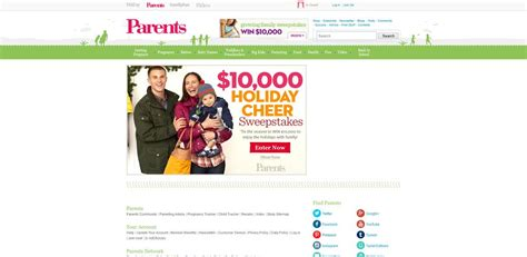 Parents Com Sweepstakes - parents com 10 000 holiday sweepstakes
