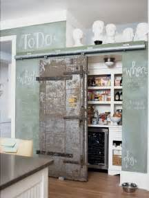 barn door pantry oh my kitchens