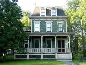 Mansard second empire house colors historic house colors