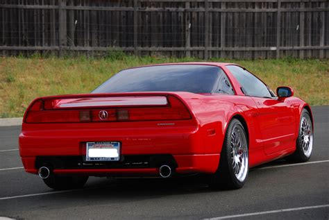 first acura ever made 1995 red black nsx t ctsc autorotor vin jh4na1189st000270