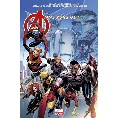 avengers time runs out avengers time runs out tome 4 achat marvel now vente panini comics