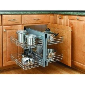 blind kitchen cabinet organizer kitchen corner cabinet organizer organization pinterest
