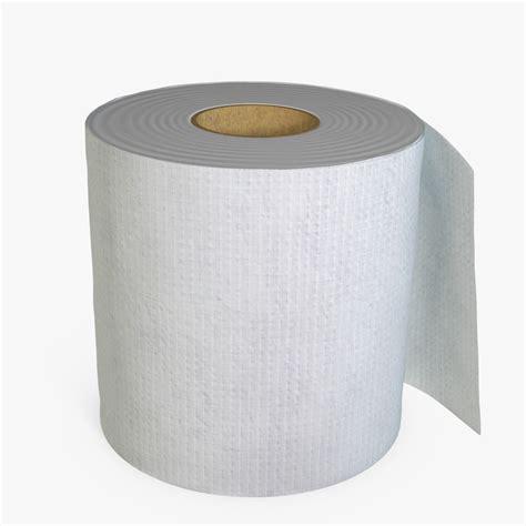 toilet paper 3d toilet paper 3d model